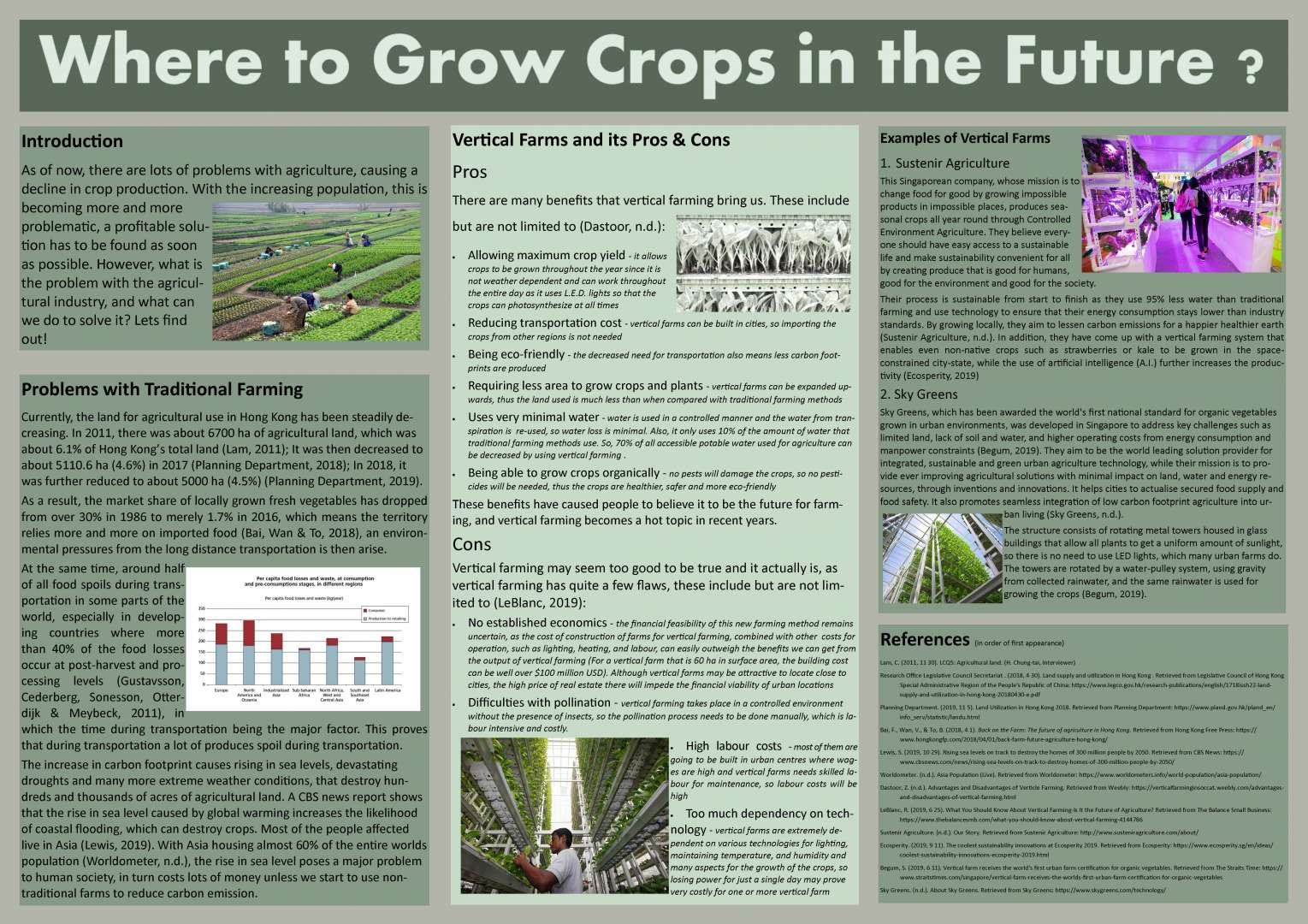 Where to Grow Crops in the Future